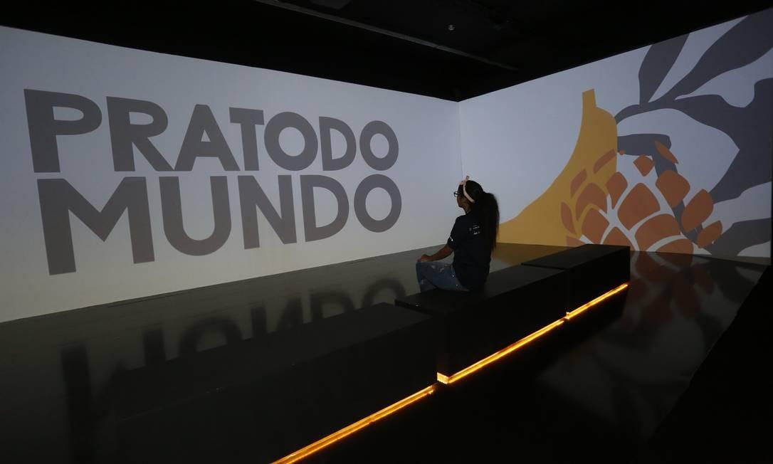 """Museu do Amanhã inaugura exposição """"PRATODOMUNDO - Comida para 10 bilhões"""" no Rio de Janeiro Foto: Fábio Guimarães / Agência O Globo"""