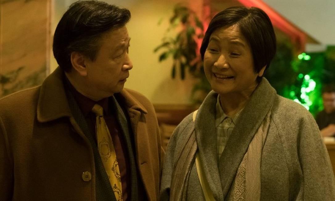 Tzi Ma e Cheng Pei Pei são casal em crise em 'Meditation Park' Foto: Divulgação