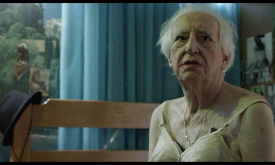 Zé Celso em cena em 'Horácio': referências ao Teatro Oficina Foto: Divulgação