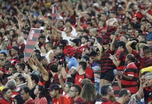 Flamengo quer maximizar receitas no Maracanã Foto: MARCELO THEOBALD / Agência O Globo