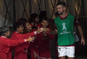 Arrascaeta será titular na Libertadores pela segunda vez Foto: MAURO PIMENTEL / AFP