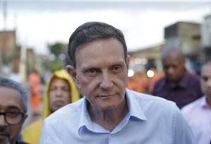 Crivella decretou Estado de Calamidade Pública no Rio Foto: Marcio Alves / Agência O Globo