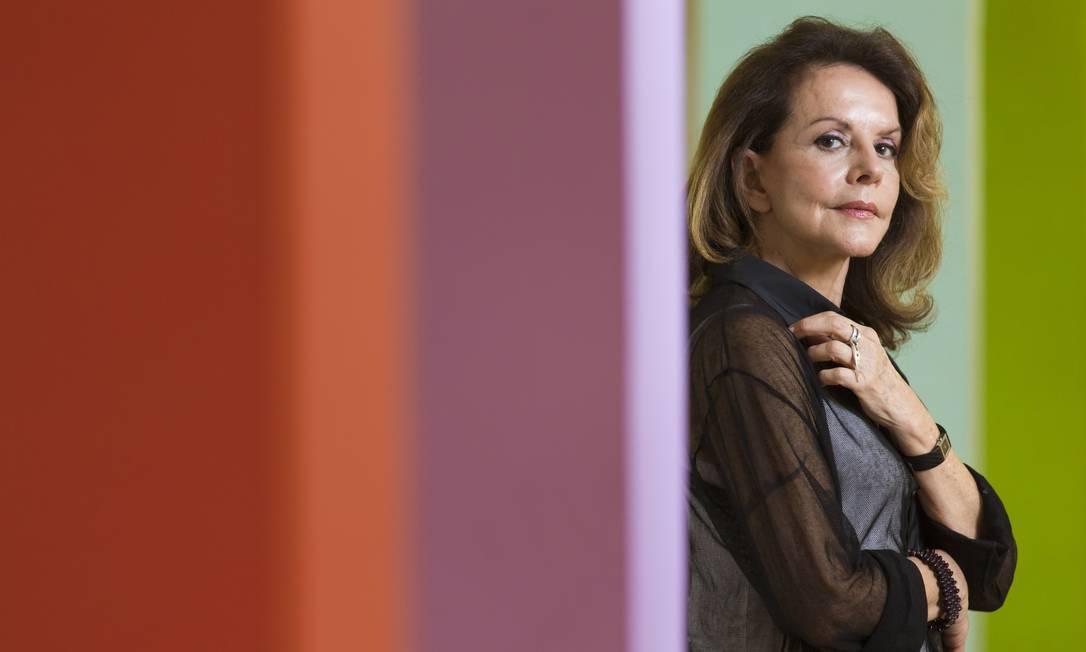 Elizabeth de Portzamparc: sucesso no mundo Foto: Leo Martins/ O Globo