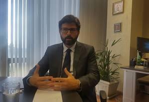 Lucas Ferraz, secretário de Comércio Exterior Foto: Eliane Oliveira / Agência O Globo