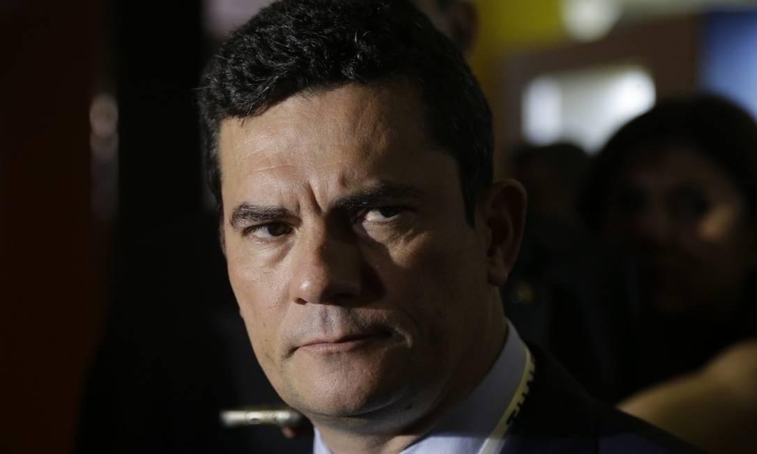 O ministro da Justiça Sergio Moro Foto: Gabriel Paiva