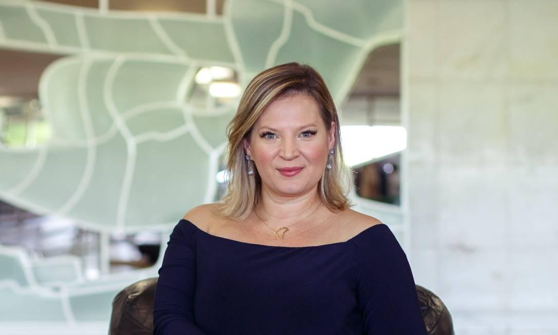 A deputada federal Joice Hasselman, do PSL Foto: Daniel Marenco / Agência O Globo