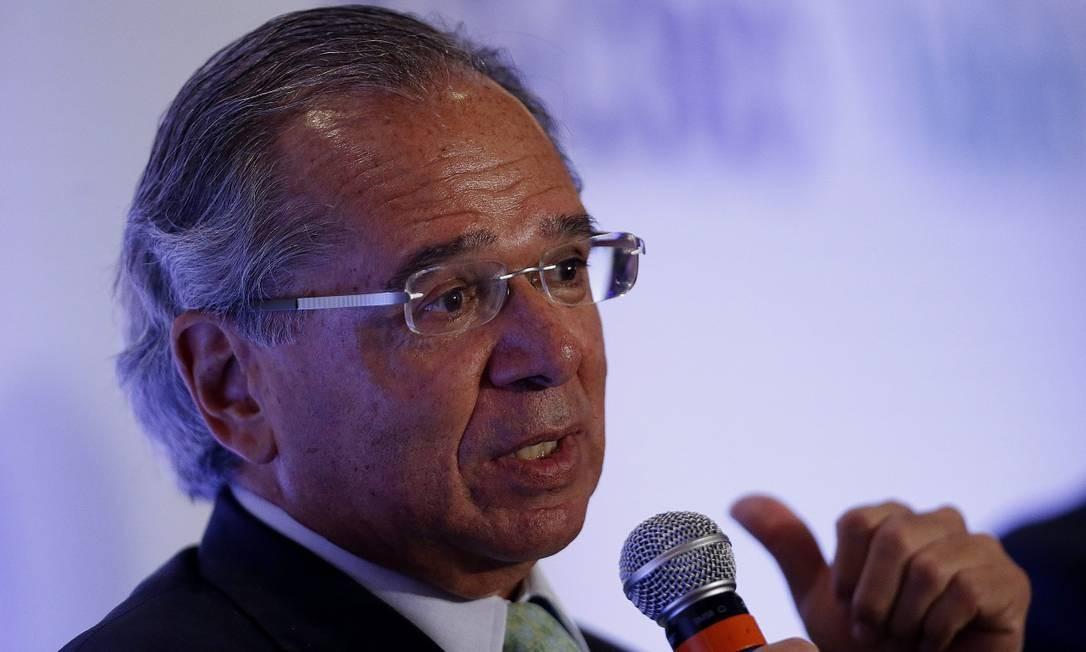 Paulo Guedes, ministro da Economia do Brasil Foto: Jorge William / Agência O Globo