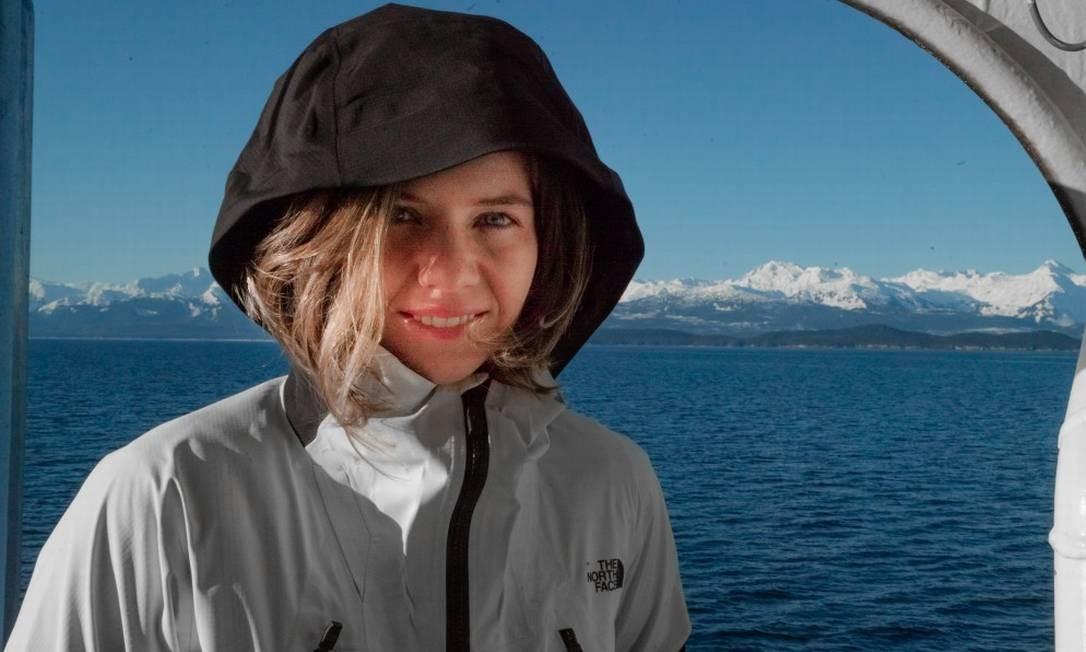 Juliana Davies, praticante de extreme ski Foto: Justin Q. McCarty