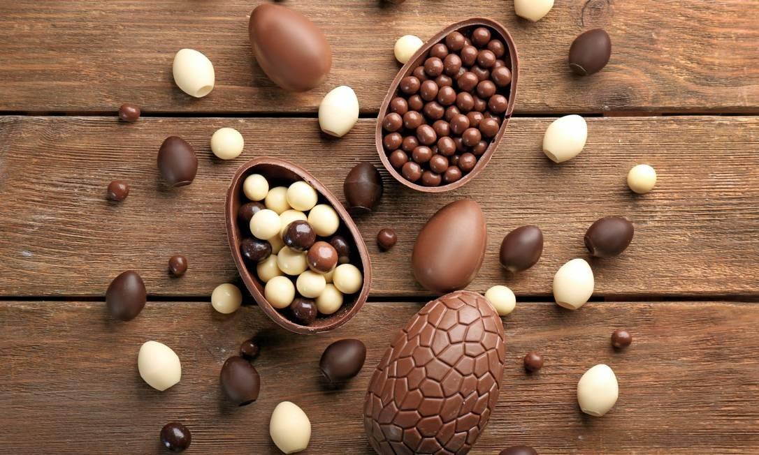 Muito chocolate no evento de Páscoa do Leblon Foto: Shutterstock