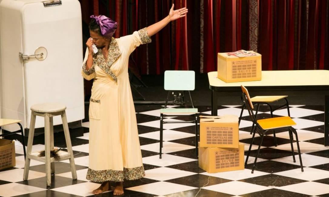 """SC -peça """"As comadres"""", dirigida por Ariane Mnouchkine Foto: Divulgação/Lina Sumizono/Festival de Curitiba"""