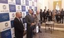 Governador Wilson Witzel na cerimônia de assinatura do contrato de concessão do Maracanã Foto: Igor Siqueira / Agência O Globo