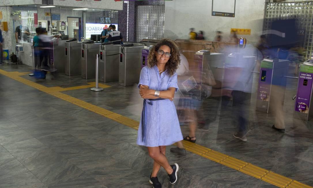 Zanna é a responsável pela logo sonora do Metrô Rio Foto: Bruno Kaiuca / Agência O Globo