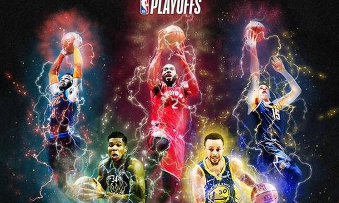 Playoffs, fase mata-mata da NBA, começam neste sábado Foto: Divulgação/NBA