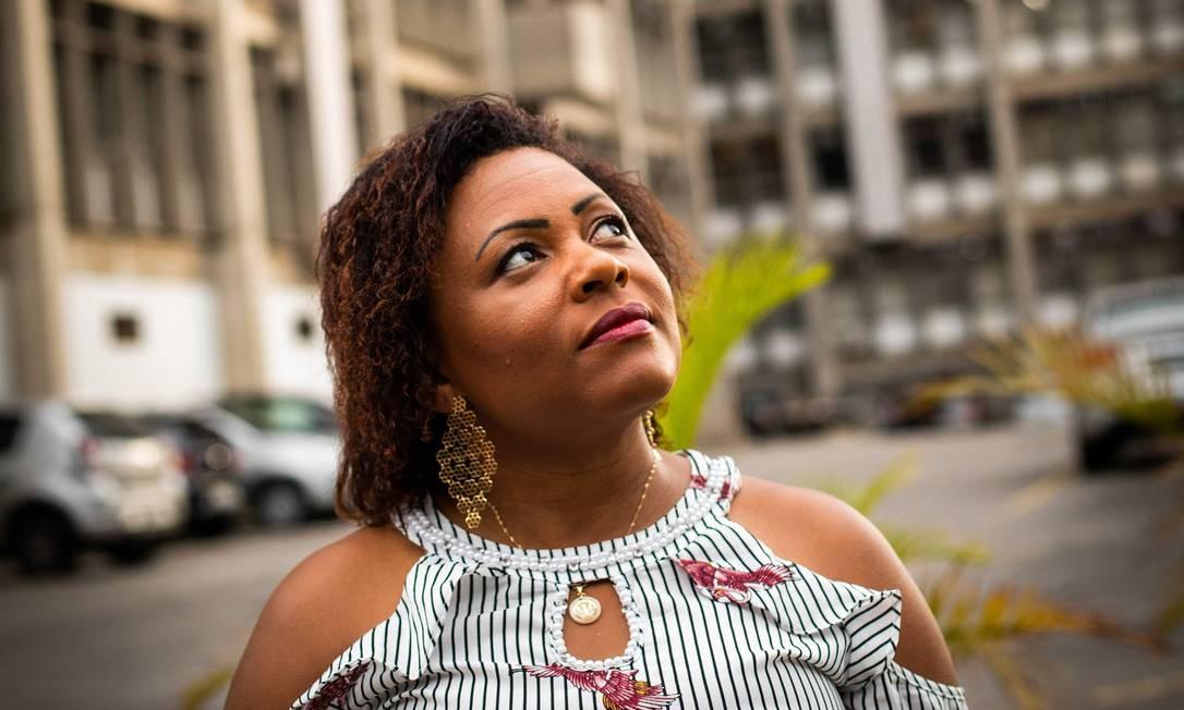 A psicóloga Josilene de Oliveira Foto: Barbara Lopes / Agência O Globo