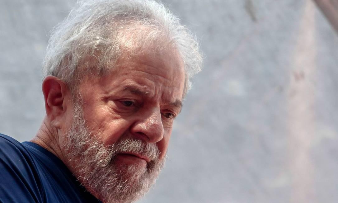 O ex-presidente Luiz Inácio Lula da Silva Foto: MIGUEL SCHINCARIOL / AFP
