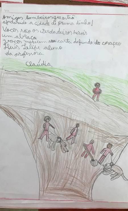 """Luis Felipe diz que os bombeiros merecem a carta """"do fundo do coração"""" Foto: Divulgação"""