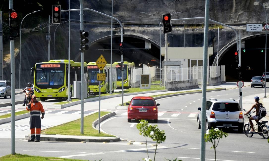 Ni Ônibus vão começar a circular pela Transoceânica Foto: Divulgação/Bruno Eduardo Alves