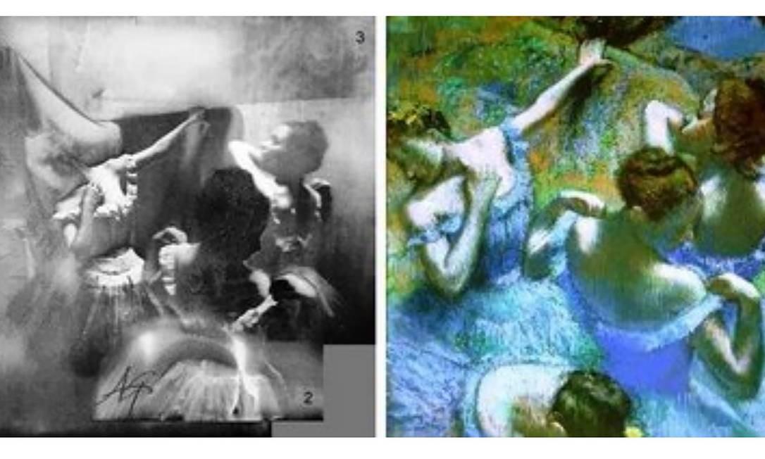 """Edgar Degas foi o primeiro pintor a descentralizar o que pinta, deixando muitos detalhes fora de quadro, como se fossem fotografias. Ele dizia: """"uma imagem é algo completamente artificial e requer tanta estratégia, malícia e planejamento como um crime"""". Foto: Divulgação"""
