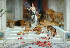 """Circe, da """"Odisseia"""", na pintura de Wright Barker: hoje, bruxaria ganha novas facetas Foto: Arquivo / Agência O Globo"""