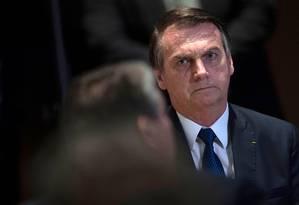 Presidente Jair Bolsonaro Foto: MAURO PIMENTEL / AFP