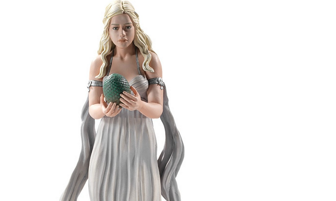 Boneco de Daenerys Targaryen, da Dark Horse. Foto: Reprodução