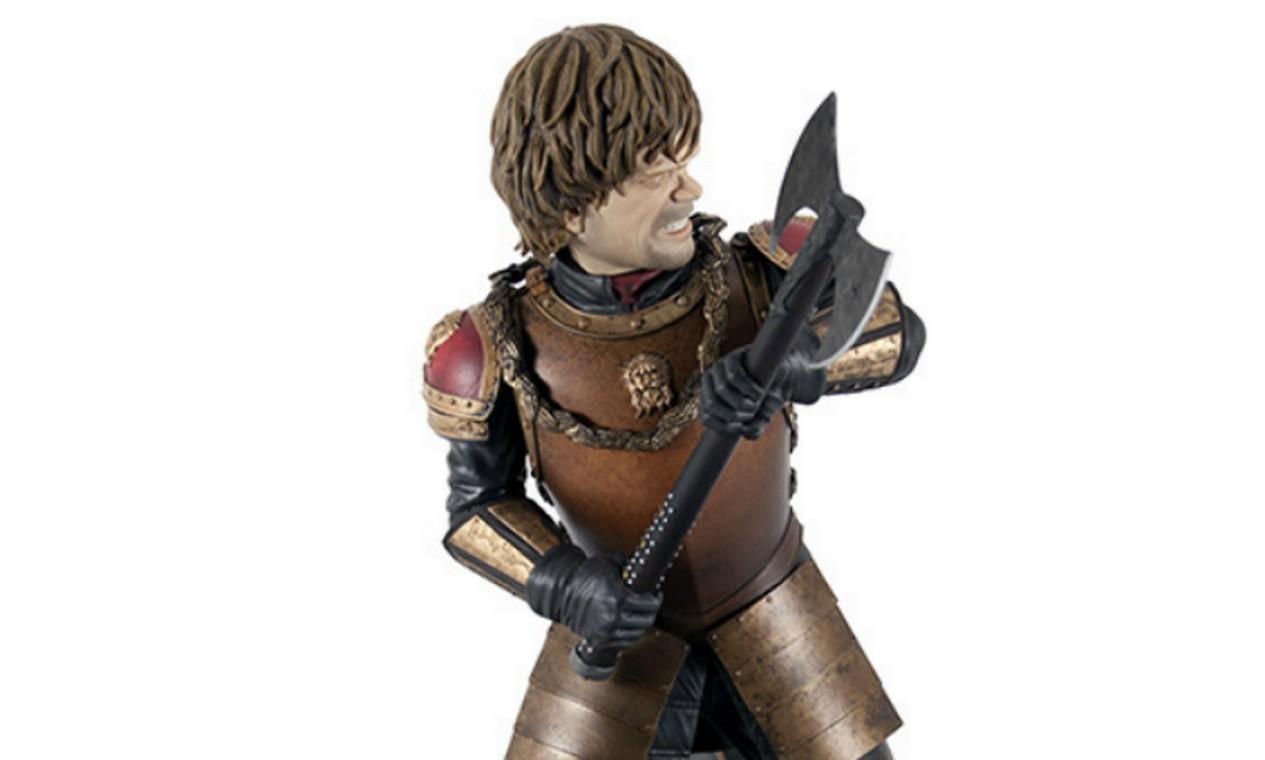 Boneco do Tyrion Lannister, da Dark Horse. Foto: Reprodução