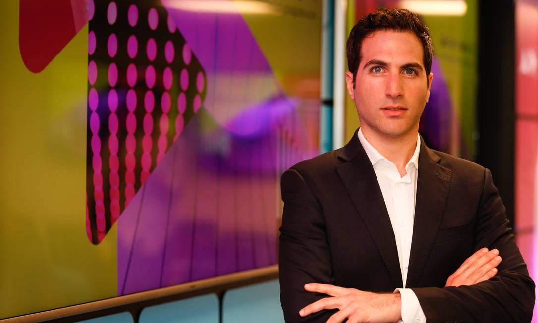Nir Kaldero, especialista em transformação digital, em curso feito na Globo Foto: Roberto Moreyra / Roberto Moreyra