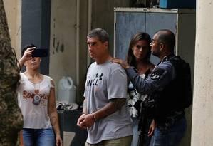 O sargento reformado Ronnie Lessa, apontado pelo Ministério Público como o autor dos disparos que mataram Marielle Franco Foto: Pablo Jacob / Agência O Globo