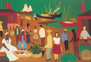 'Mercado da Bahia', tela de Djanira de 1959 Foto: Divulgação