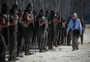 A produtora-executiva de 'Game of thrones' Bernadette Caulfield: para Emilia Clarke, ela é o coração que bate da série Foto: Macall Polay/HBO