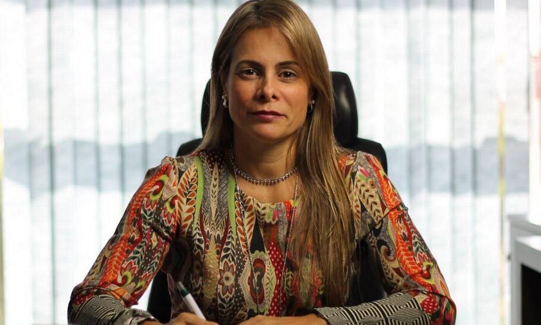 A secretária de Fazenda de Goiás, Cristiane Alkmin Schmidt Foto: Divulgação