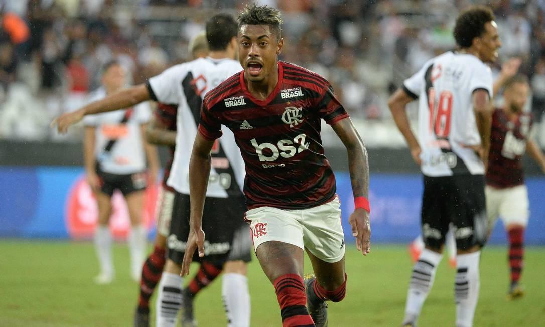 Bruno Henrique tem dois gols por clássico Foto: Divulgação