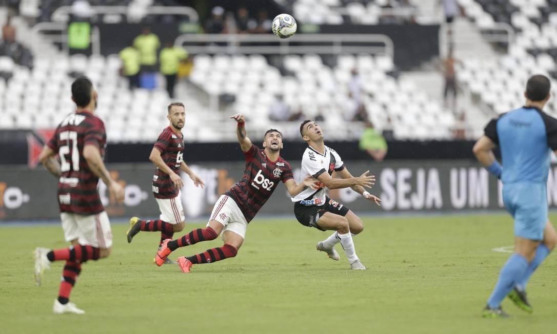 Primeira decisão do Carioca de 2019 tem arquibancadas vazias Foto: Antonio Scorza