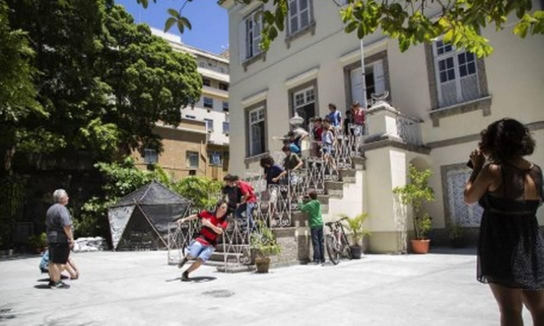 Fachada do colégio Edem, em Laranjeiras Foto: Reprodução do site da Edem