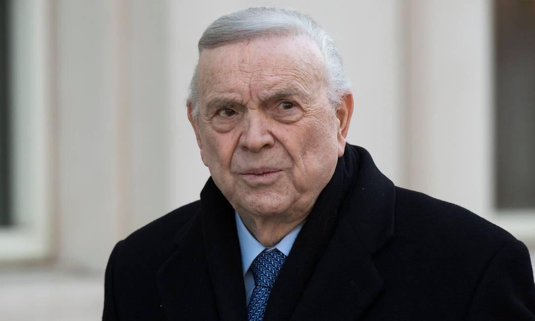 José Marin, ex-presidente da CBF, foi banido para sempre pela Fifa Foto: DON EMMERT / AFP