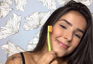 A estudante de odontologia Maria Fernanda Ferreira de Lima morreu após tomar um choque durante evento de música Foto: Reprodução