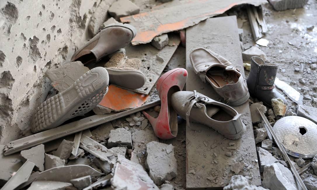 Bombardeios atingem área residencial em Trípoli Foto: HANI AMARA 15-04-2019 / REUTERS