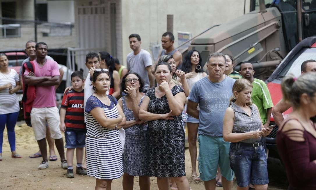 Polícia não consegue depoimentos de sobreviventes da Muzema Foto: Gabriel de Paiva / Agência O Globo