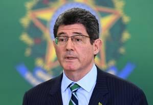 Joaquim Levy, presidente do BNDES Foto: EVARISTO SA / AFP