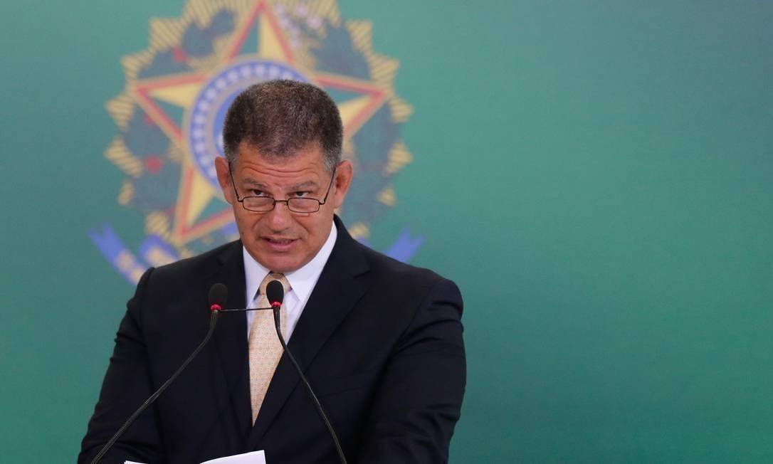 O ex-ministro Gustavo Bebianno Foto: Pablo Jacob / Agência O Globo