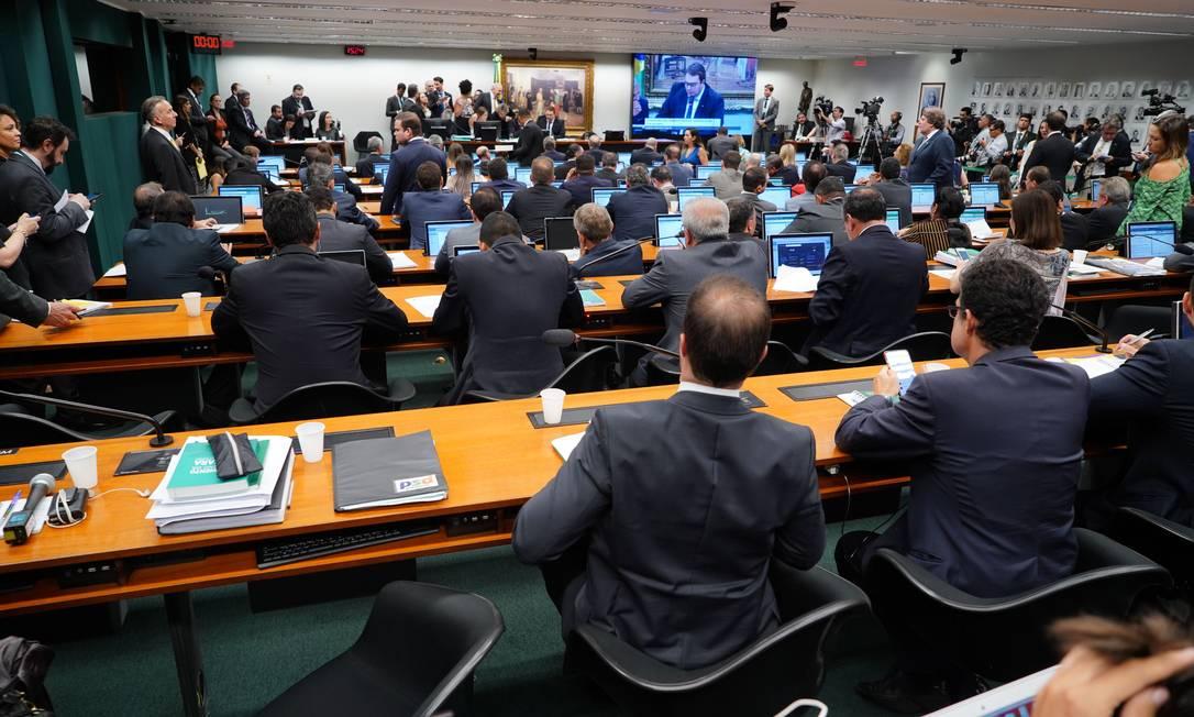 Na votação, o PSL foi apoiado apenas por DEM, PSDB, Solidariedade, Novo e PSC. Foto: Divulgação/Câmara