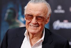 Stan Lee, morto em novembro passado Foto: Danny Moloshok / Reuters