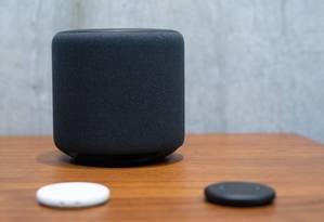 Sistema Echo, da Amazon, será conectável ao novo app de música rival do Spotify. Foto: GRANT HINDSLEY / AFP