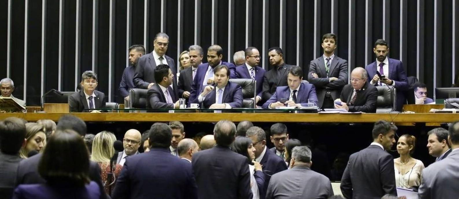 Votação na Câmara dos Deputados Foto: Luis Macedo / Câmara dos Deputados