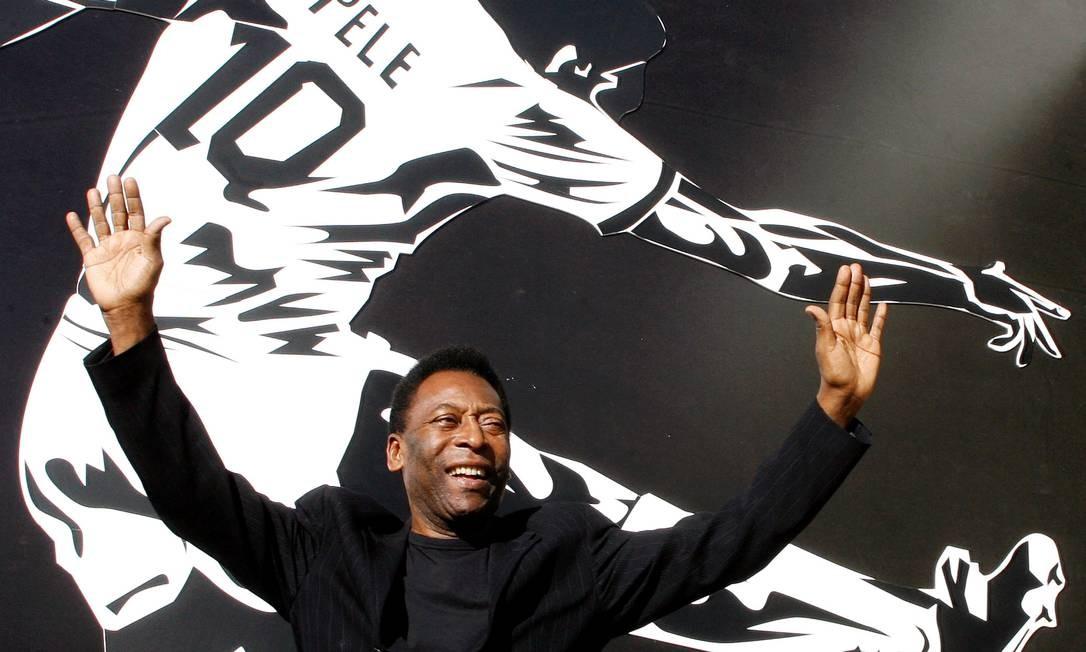 Após seis dias internado, Pelé recebeu alta de hospital Foto: Roberto Jayme / REUTERS