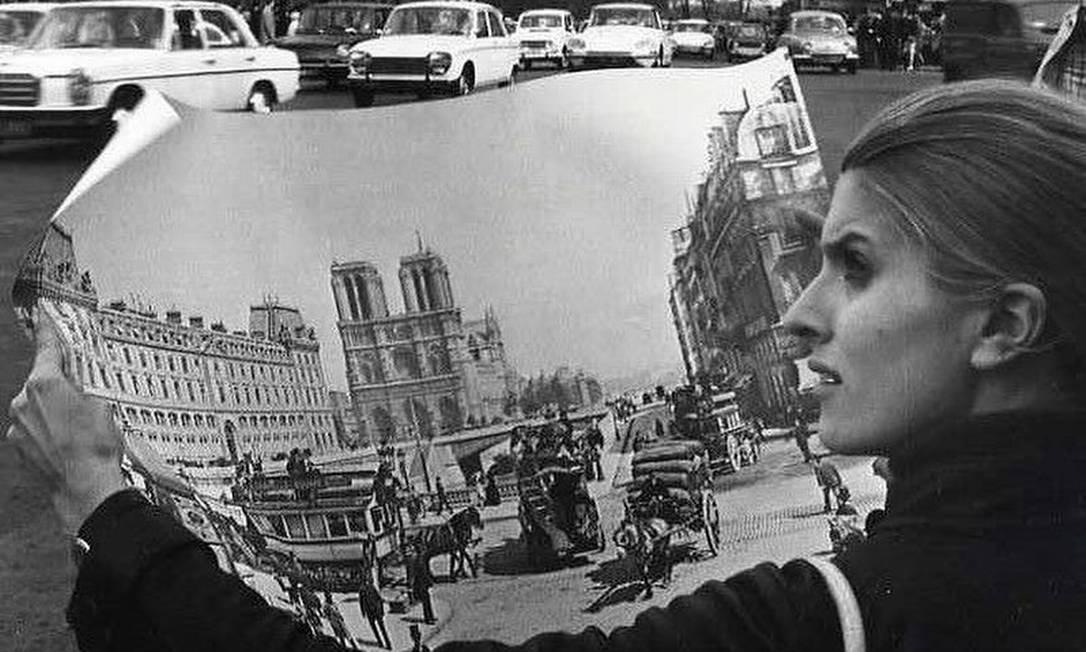 O estilista francês Jacquemus compartilhou uma foto de Robert Doisneau Foto: Reprodução/Instagram