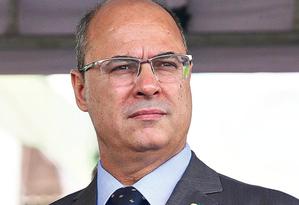 Autoavaliação: governador faz leitura positiva do trabalho de sua gestão no primeiro trimestre Foto: Pedro Teixeira / Agência O GLOBO