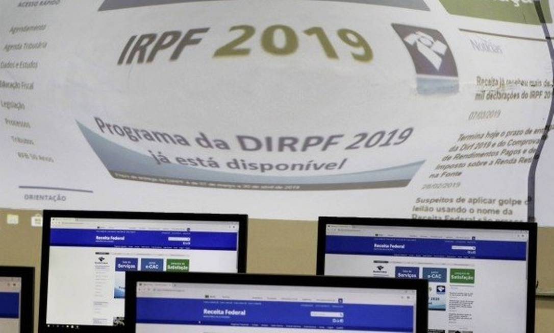 Imposto de Renda 2019: confira o passo a passo para preencher a declaração Foto: Agência O Globo