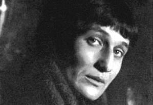 A poeta Anna Akhmátova Foto: Heritage Images / Heritage Images/Getty Images
