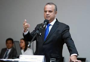O secretário especial de Previdência, Rogério Marinho, na Comissão de Trabalho da Câmara Foto: Pablo Valadares / Câmara dos Deputados